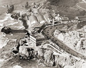 Cliff House and Sutro Baths 1936